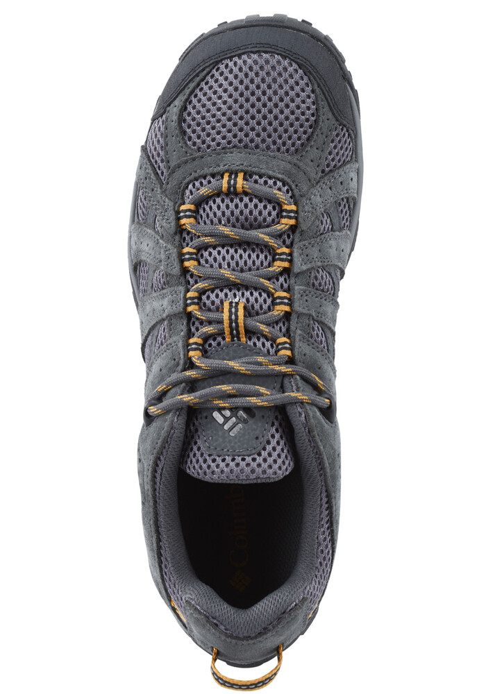 black single men in redmond Black/squash pebble/dark ginger  you're wearing the columbia men's redmond waterproof hiking shoe the durable suede leather, mesh, and webbing upper utilizes an .